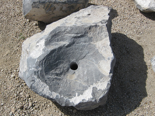 Cored Water Feature Boulders